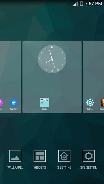 S Launcher (Galaxy S6 Launcher v3.92 .apk File