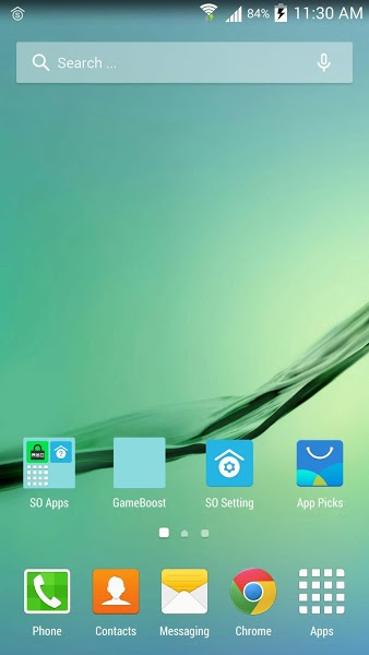 SO Launcher (galaxy launcher) v1.8 .apk File