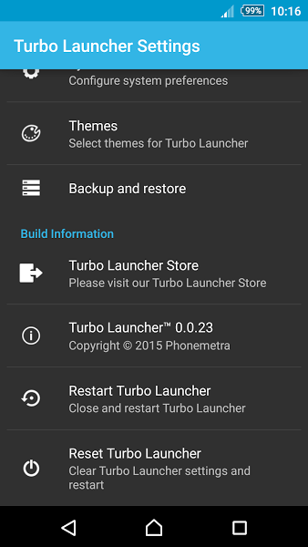 Turbo Launcher® v0.0.27 .apk File