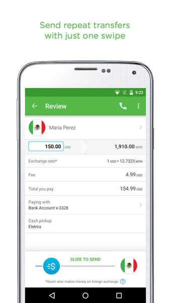 Download Xoom Money Transfer App for Android | Softstribe