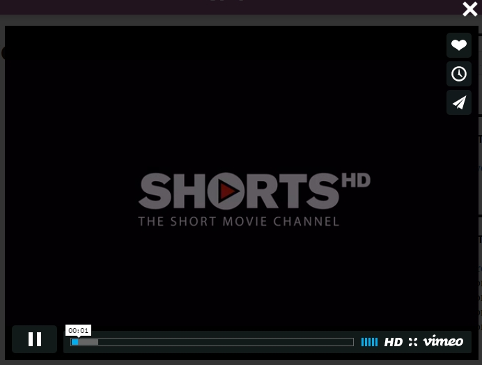Lightbox Vimeo Video