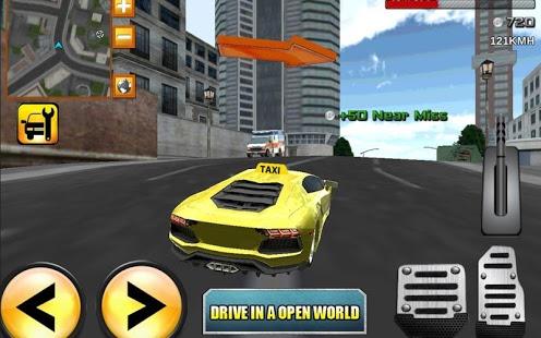 Crazy Driver Taxi Duty 3D v2.5 .apk File