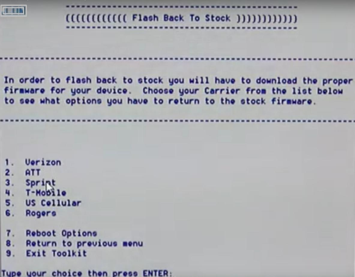 How to Restore Moto X from Custom ROM to Stock ROM (Sprint
