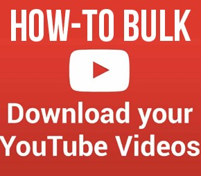 Bulk Download YouTube Videos