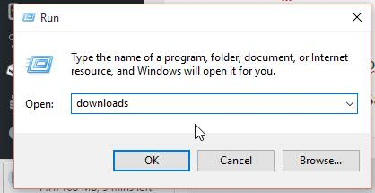 Downloads Folder Windows