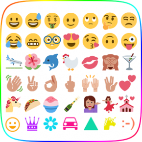 Emoji Keyboard - Twemoji Emoji Thumb