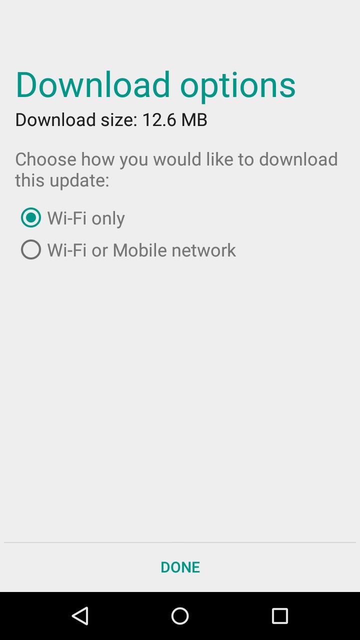 Moto X 1st Gen. Security Update Screenshot 02