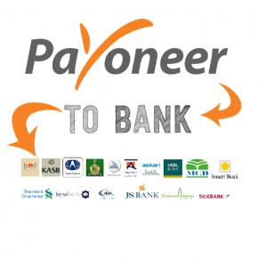 payoneer to Pakistani bank