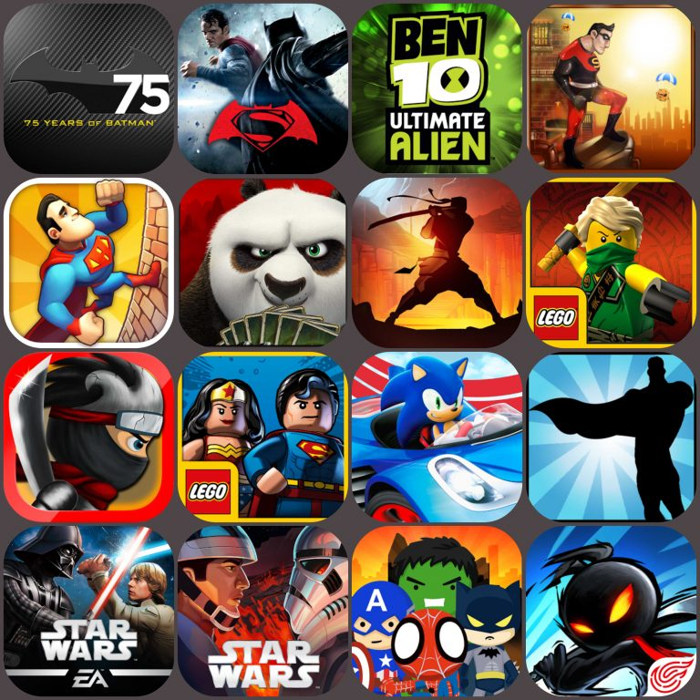 Top 20 Best Superhero Android Games