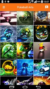 HD Wallpaper: Pokeball Arts v1.0 .apk File