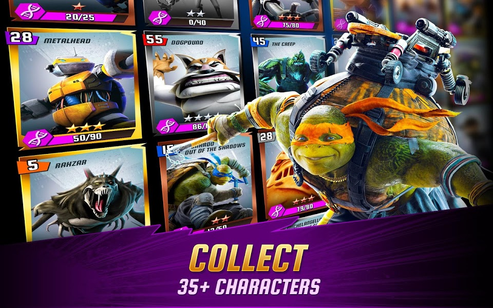 Ninja Turtles: Legends v1.2.10  .apk File