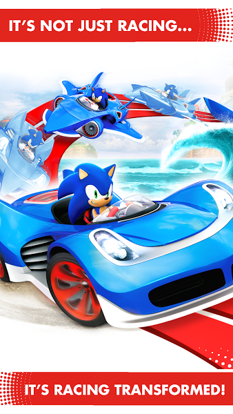 Sonic Racing Transformed v .apk File