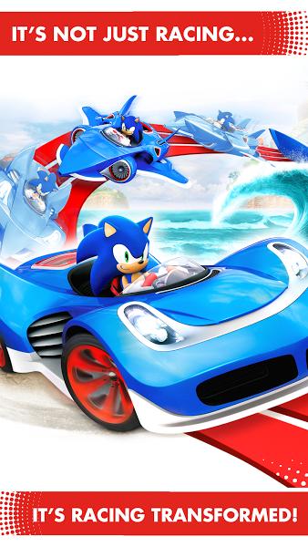 Sonic Racing Transformed v .apk File