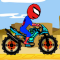 Spider man Motorbiker Game