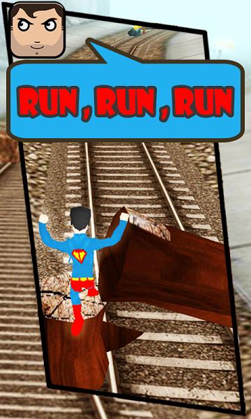 Subway Superman Run v2.0  .apk File