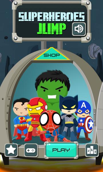 SuperHeroes Jump v1.3.0  .apk File