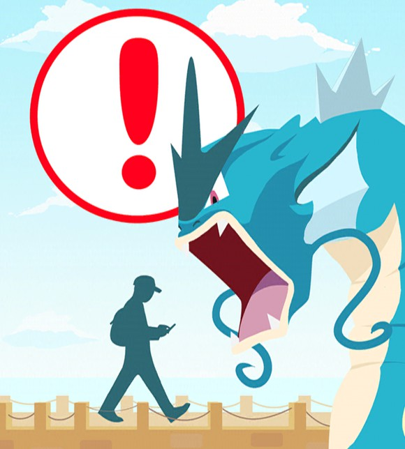 Things to avoid while playing pokemon GO