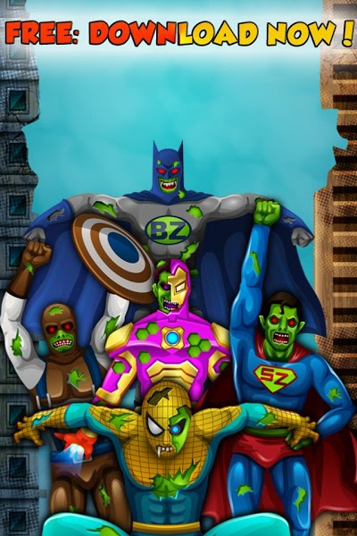 Zombie Superhero game for Kids v1.0  .apk File
