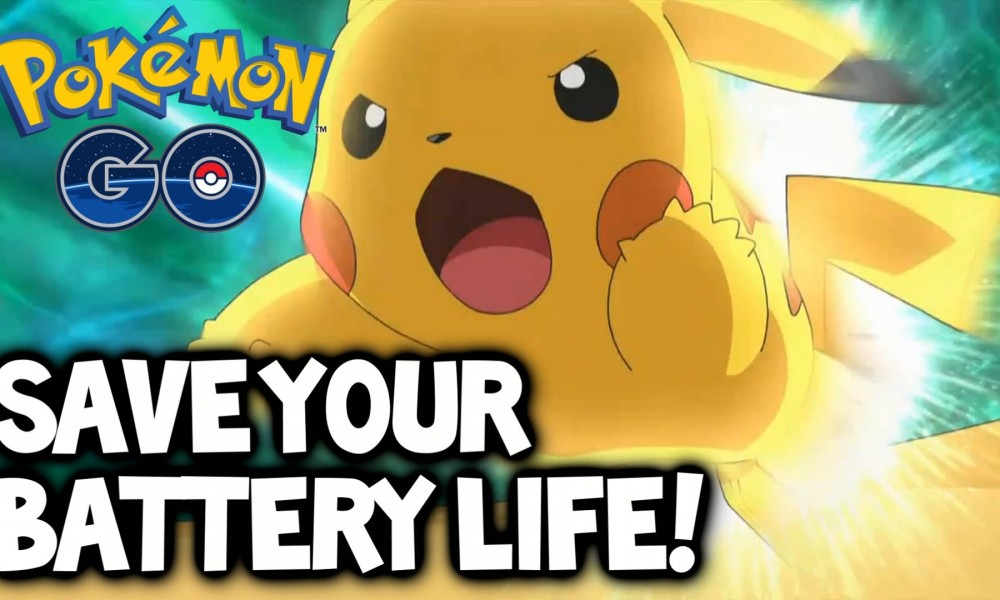 save battery life while playing Pokemon GO