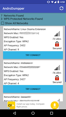 AndroDumpper ( WPS Connect ) v1.88 .apk File