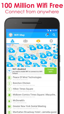 WiFi Map – Free Passwords v3.1.0 .apk File