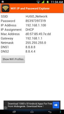 WiFi Password, IP, DNS v1.3.6 .apk File