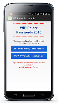 WiFi Router Passwords v1.0 .apk File