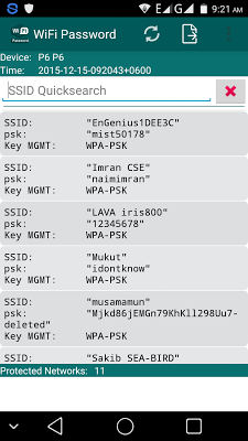 Wifi Password (Root) v1.0.2 .apk File
