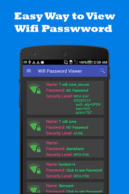 Wifi Password Viewer v2.0.8 .apk File