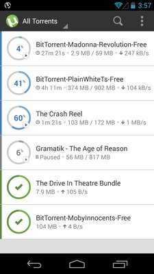 uTorrent Torrent Downloader v3.32 .apk File