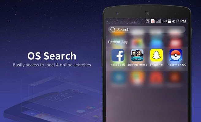 Launcher for Phone 7 & Plus for Android