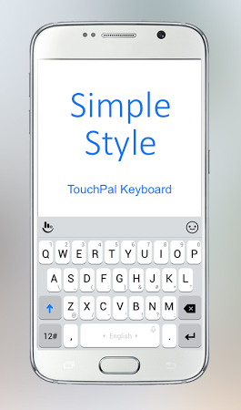 TouchPal Simple Style Theme v6.12.28 .apk File