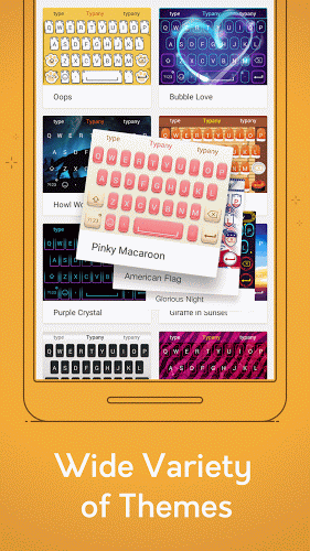 Typany Keyboard – Fast & Free v1.10.2 .apk File