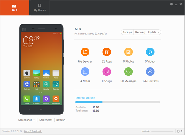 Free Download Xiaomi Mi Pc Suite 3 32 Bit Setup Updated