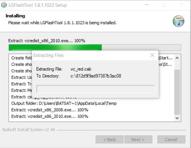 Installing LG Flash tool in WIndows
