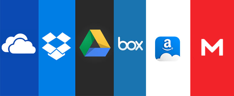 Android Cloud storage apps