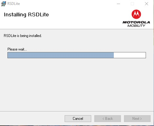 RSD Lite flashing toolkit for Motorola users