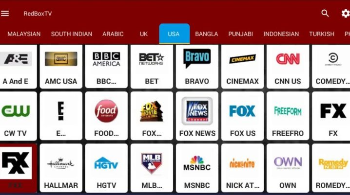 RedBox TV v1.2 .apk File