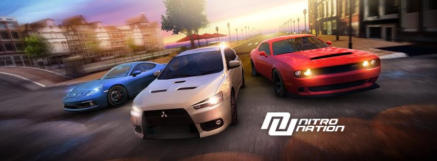 Nitro Nation: Drag and Drift Android racing game