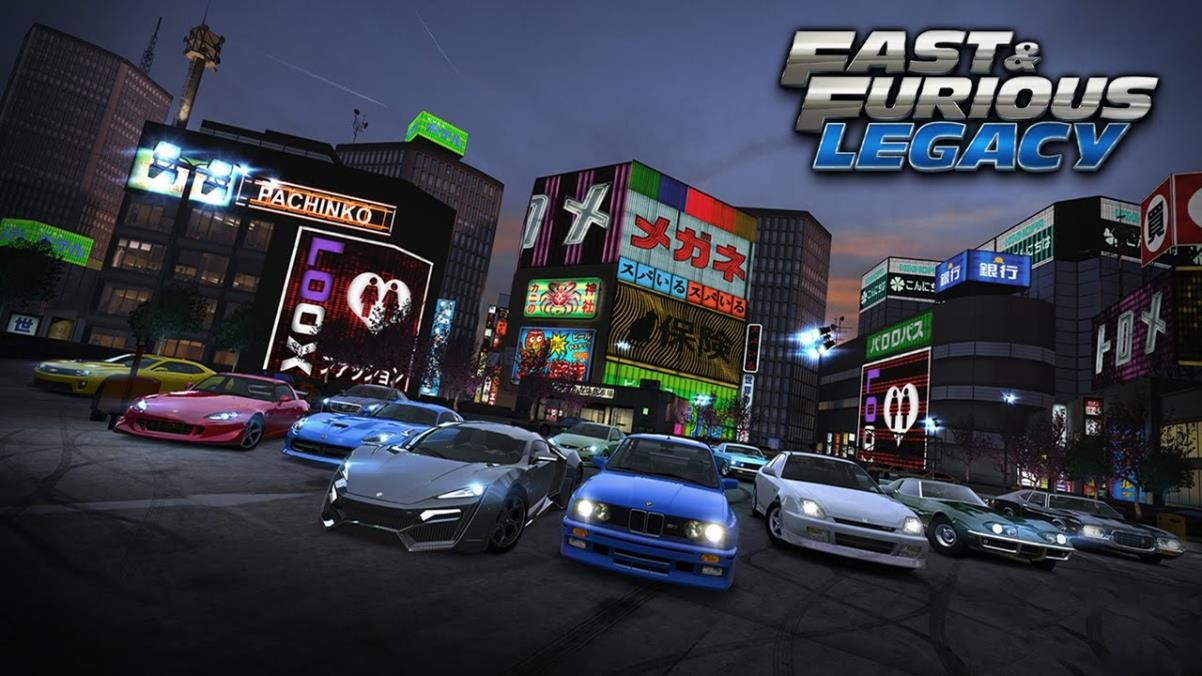 Fast & Furious Legacy Android racing game